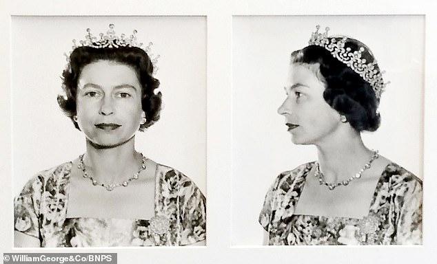Nëntë portrete të mbretëreshës së Anglisë nxirren në shitje për 3,000 paund