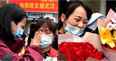 Luftuan Covid-19 për dy muaj, mjekët në Kinë takojnë më në fund familjarët