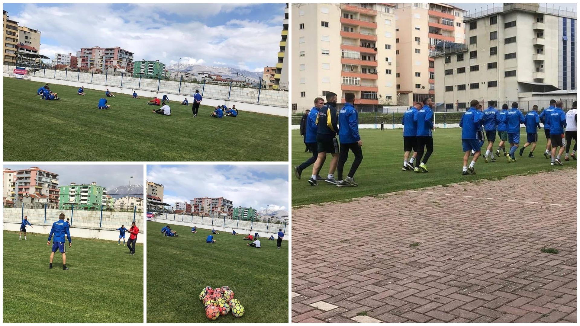 Sfidë pandemisë, zbuloni klubin e parë që nis stërvitjet në Shqipëri