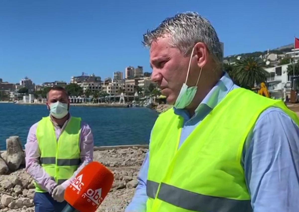 Kreu i bashkisë së Sarandës siguron se ndërtimi i bulevardit të ri s'do dëmtojë plazhin publik