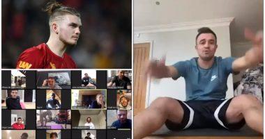 """VIDEO/ """"Shqip, Xherdan"""", Jurgen Klopp """"dënon"""" Shaqirin&Co. të këndojnë"""
