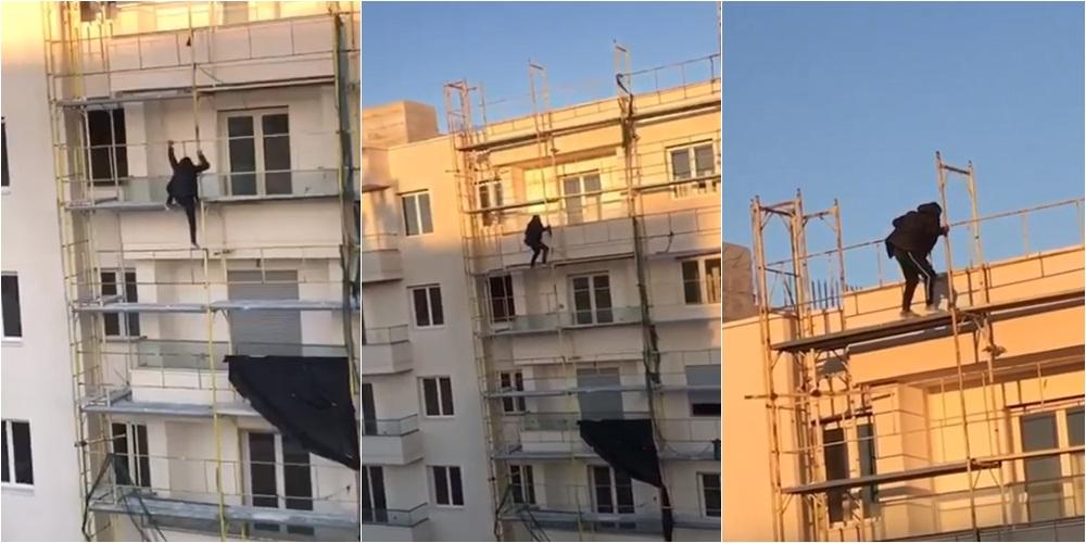 """""""Njerëz të braktisur, refugjatët sirianë në Durrës flenë në tarracën e pallatit ne ndertim"""""""