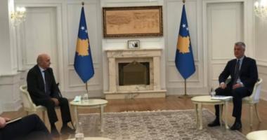 Situata politike, nis në Presidencë takimi Mustafa-Thaçi