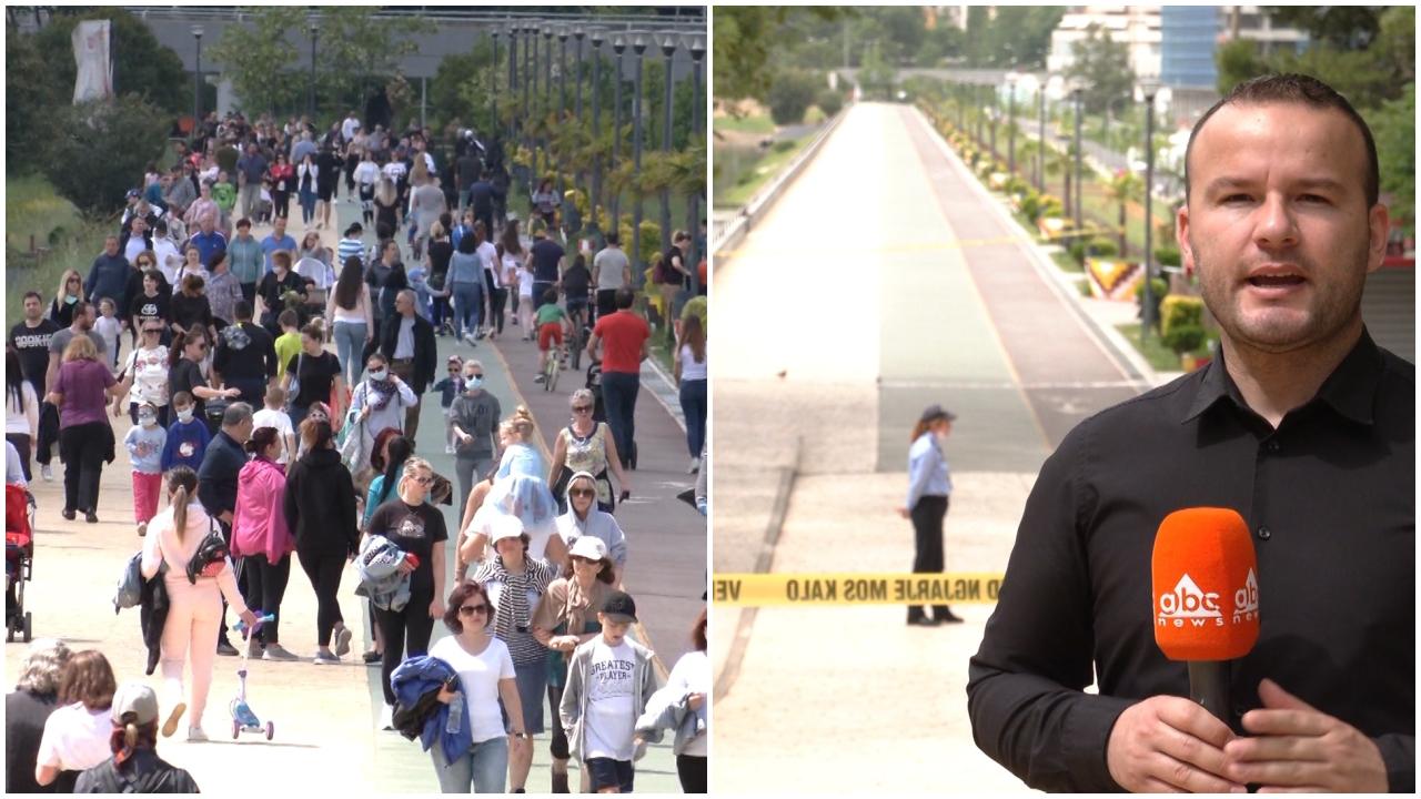Rritja e shifrave mbyll parqet në fundjavë, policia shpërndan qytetarët