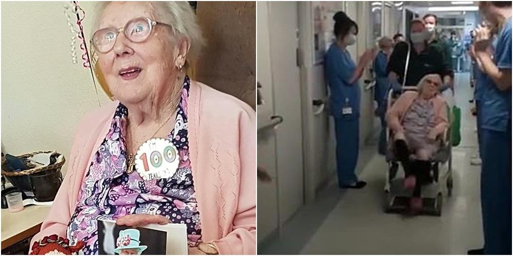 """E moshuara 100-vjeçare fiton luftën me Covid-19, flet mbesa: Ky është """"sekreti"""" i saj"""