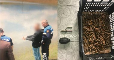 Qëlloi me armë zjarri drejt një banese, arrestohet 25-vjeçari, i gjendet granatë në shtëpi