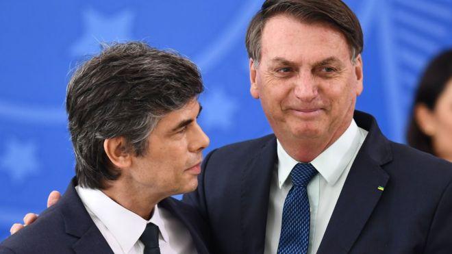 """Menaxhimi i """"Covid-19"""", Brazili humb ministrin e dytë të Shëndetësisë brenda 1 muaji"""