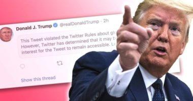 Përplasje mes Trump dhe Twitter, çfarë i ndodhi postimit të Presidentit
