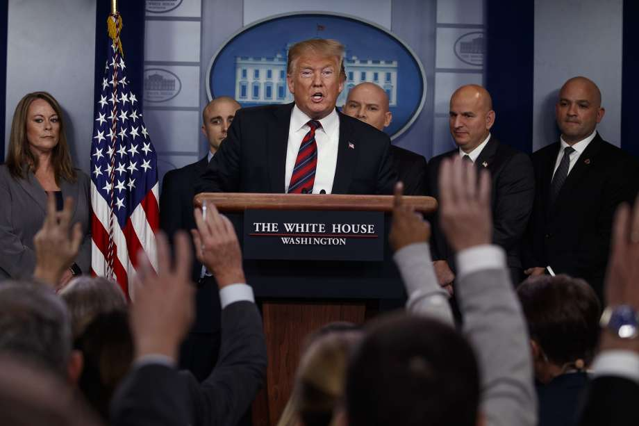 """""""Si e keni hallin? Presidenti Trump tregon pse acarohet me gazetarët"""