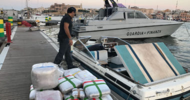 Shkatërrohet banda shqiptaro-italiane, sekuestrohen rreth 4 ton drogë