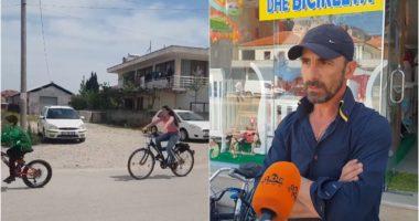 """""""Shtetrrethimi"""" rikthen biçikletat në Seman, qytetarët largohen nga betoni"""