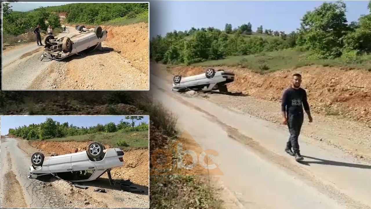 VIDEO/ Aksident në Bulqizë, i riu niset me helikopter drejt Tiranës