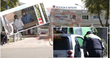 COVID-19 prek 8 efektivë policie në Tiranë, të infektuarit shërbenin te pritja e qytetarëve