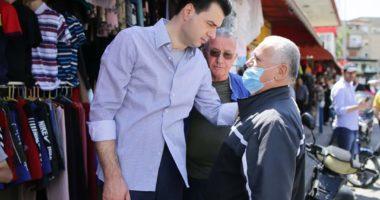 Basha takime me qytetarët në Tiranë: Rama nuk ka projekt për të nxjerrë nga kriza biznesin