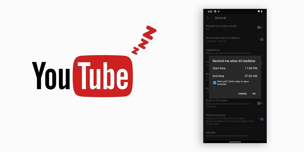 YouTube tashmë do të të kujtojë se ka ardhur koha për gjumë. Ja si ta aktivizosh