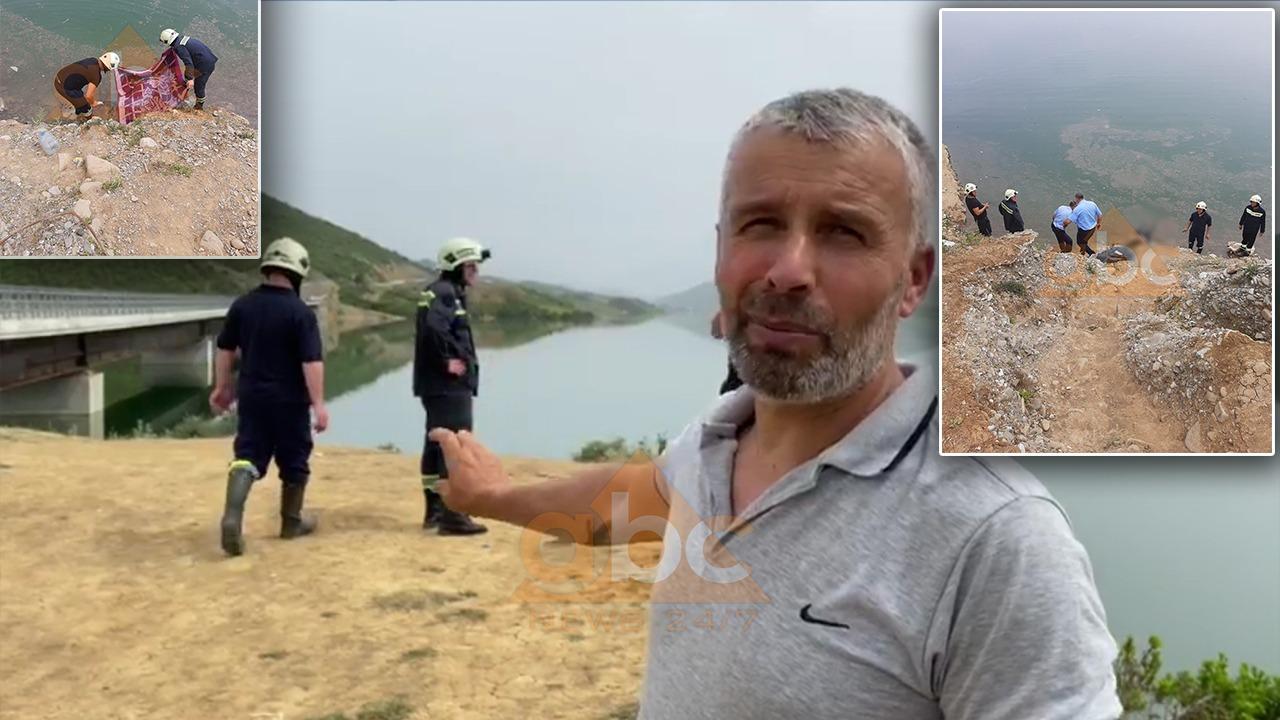 Pashë që ra makina, pastaj doli një trup nga uji: Dëshmitari i aksidentit tragjik në liqenin e Banjës flet për Abc News