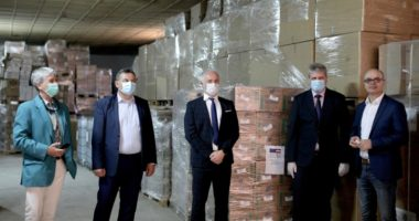 Austria dhuron doreza dhe dezinfektues për Shqipërinë