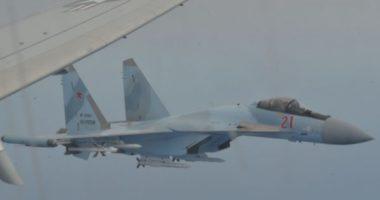 """Tension në qiell, dy """"Su-35"""" rusë i afrohen kërcënueshëm avionit amerikan"""
