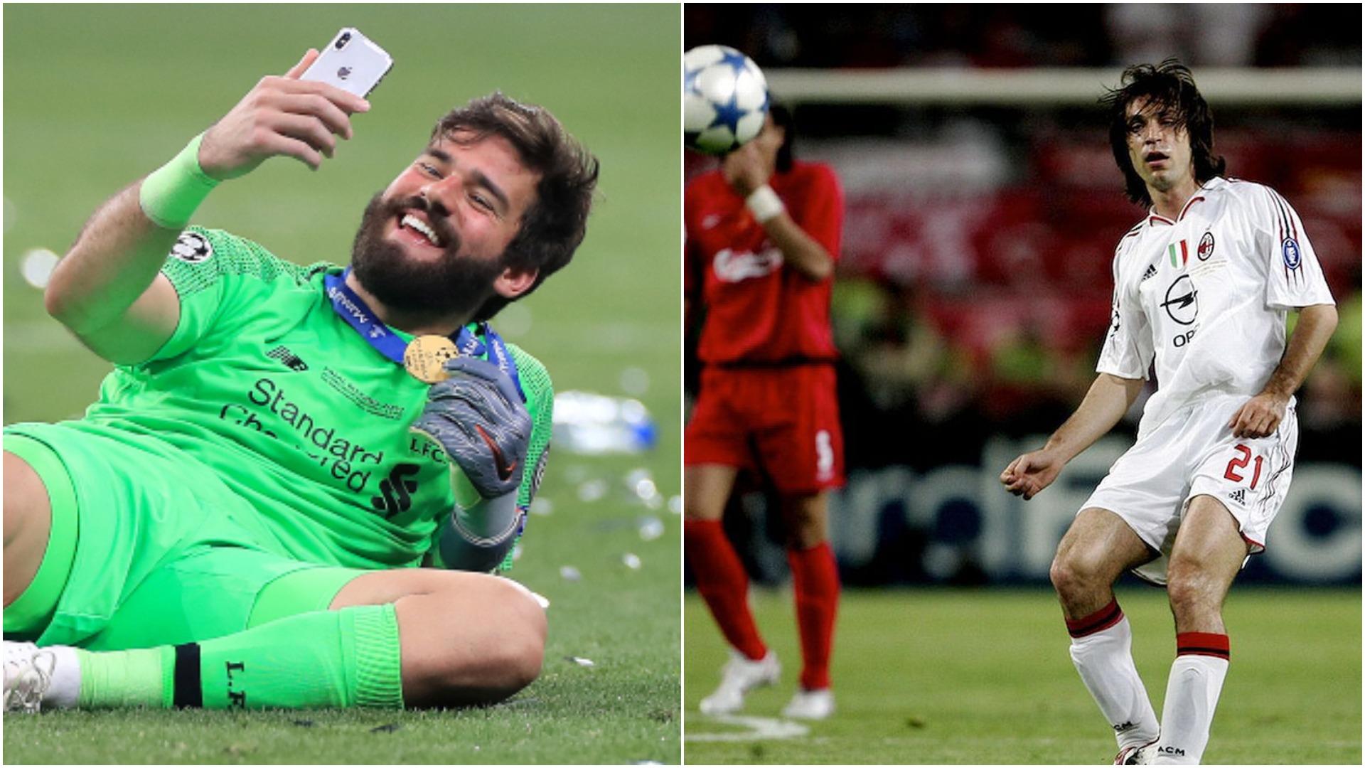"""""""Alisson fantastik në lojën me top, braziliani ngjan me Andrea Pirlon"""""""