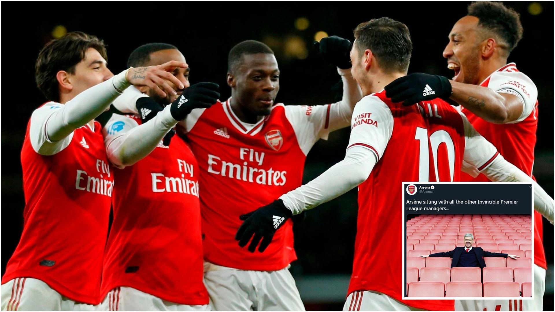 Futbolli mungon por jo ngacmimet, Arsenali me postim epik në Twitter!