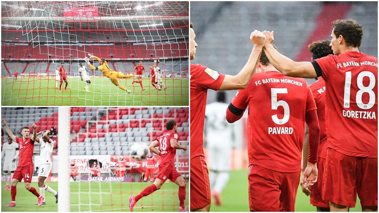 VIDEO   Bayern dominues në pjesën e parë, Muller protagonist