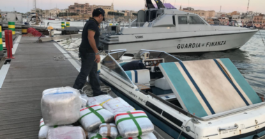 The Albanian-Italian narcotic gang is destroyed, 9 arrested and  4 tons of drugs seized