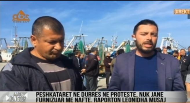 Peshkatarët thyejnë karantinën në 1 Maj, protestë në Portin e Durrësit: Duam naftë pa akcizë
