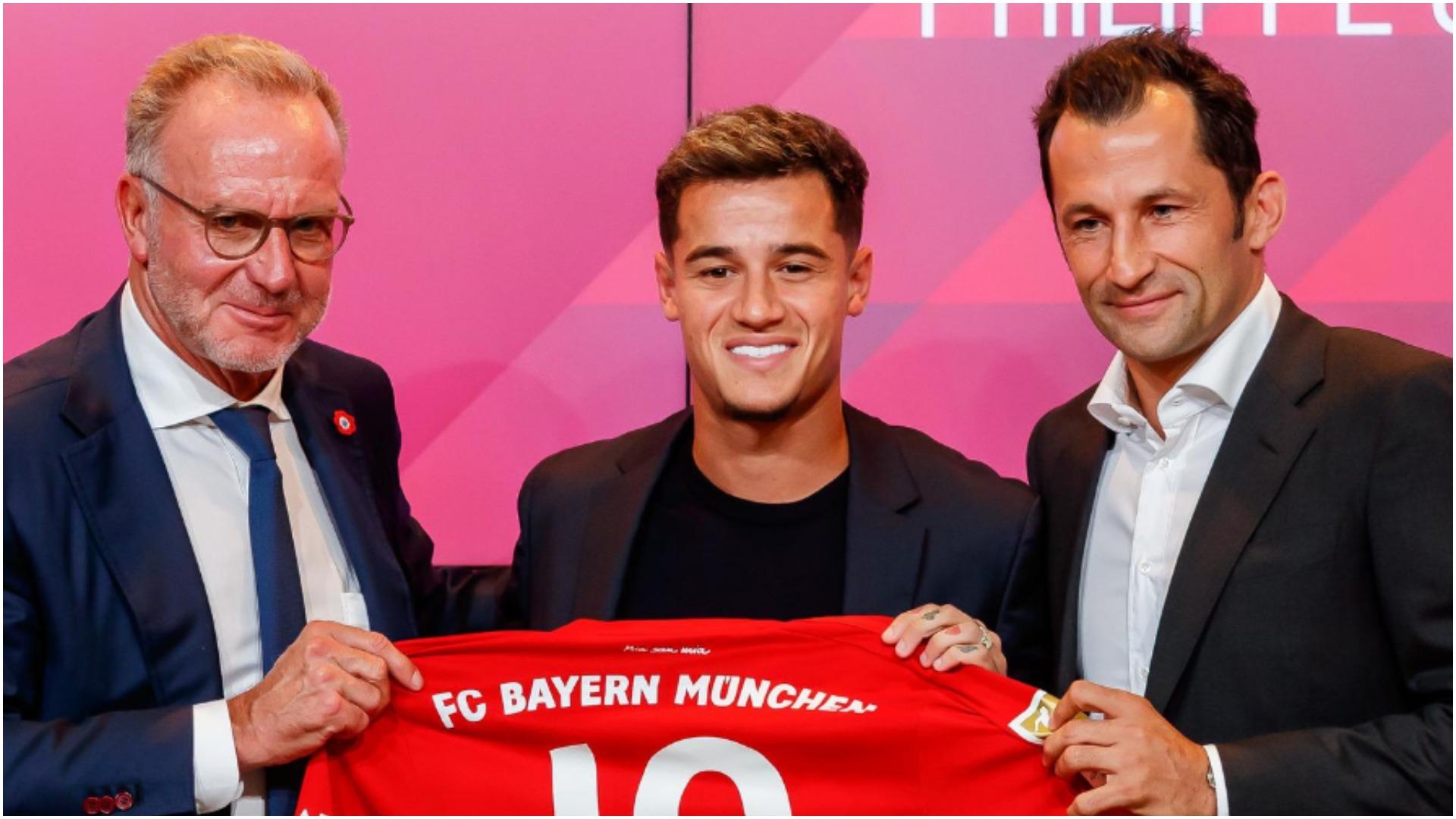 """""""U dogj opsioni që kishim"""", Rummenigge largon Coutinhon nga Bayerni"""