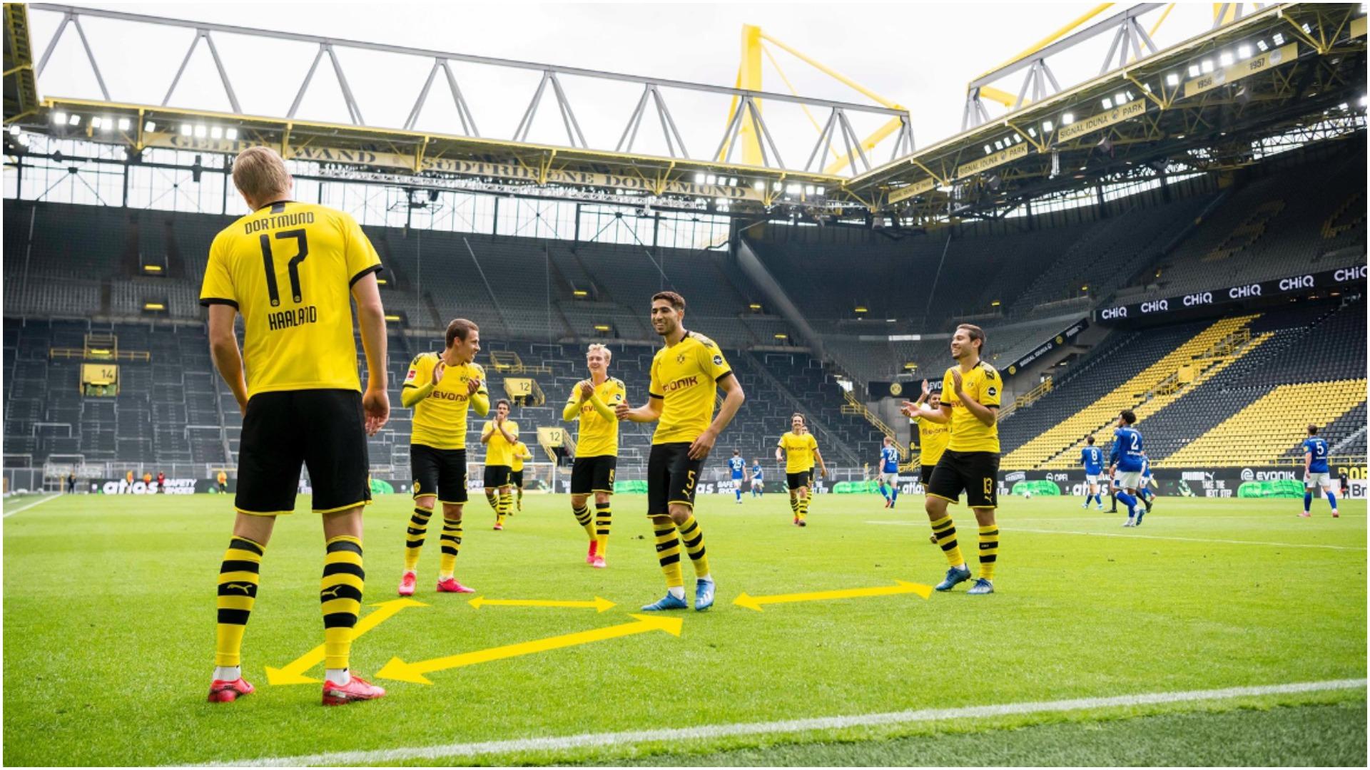 Shumë mall për futboll, Dortmund-Schalke vendos rekord në… Spanjë