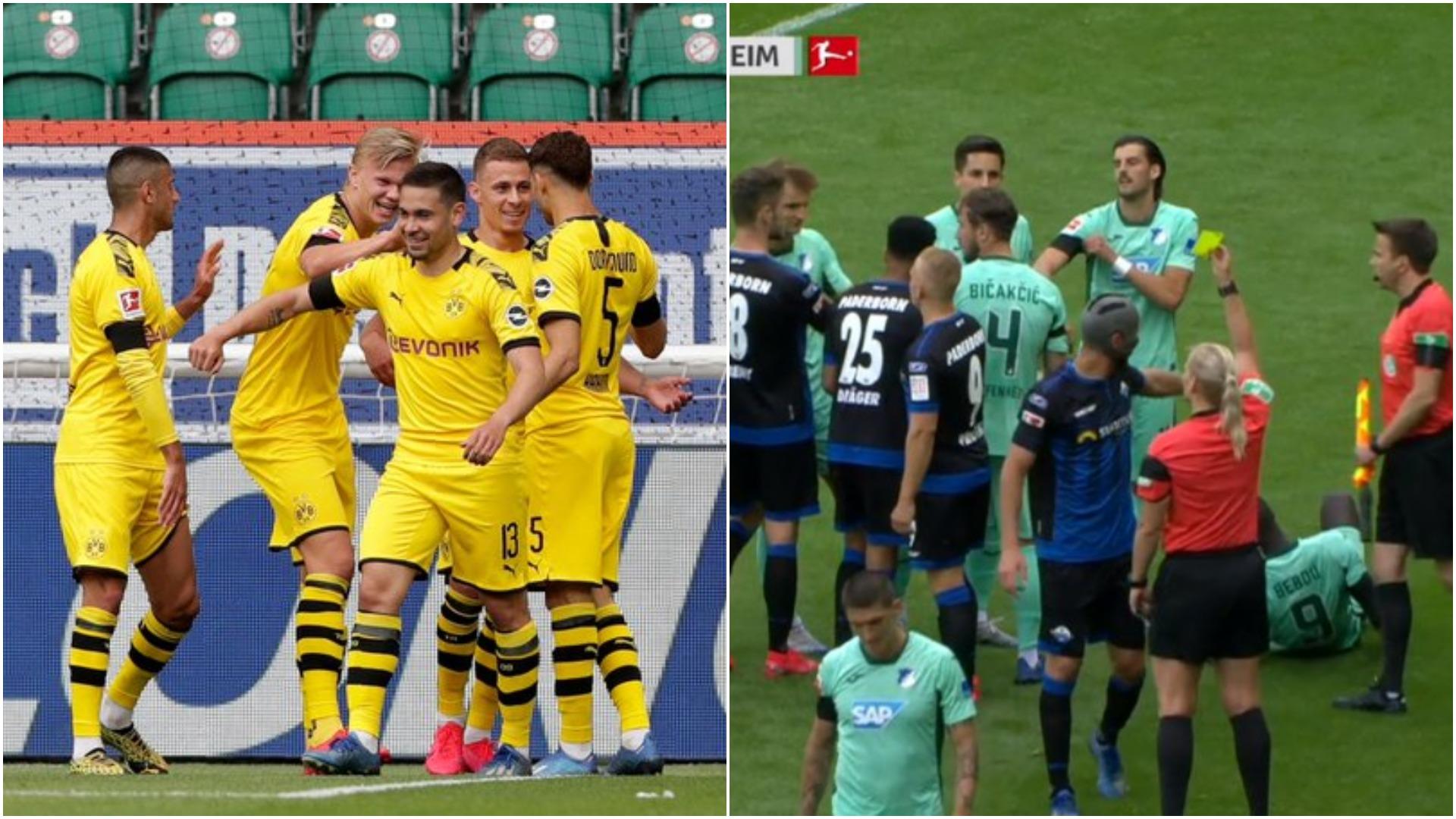 """VIDEO/  Dortmund i falet dy """"pistonave"""", Gjasula vendos rekord në Gjermani"""