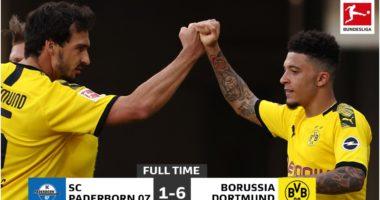 """VIDEO/ Dortmund luan """"tenis"""" ndaj Paderborn, Sancho i jashtëzakonshëm"""