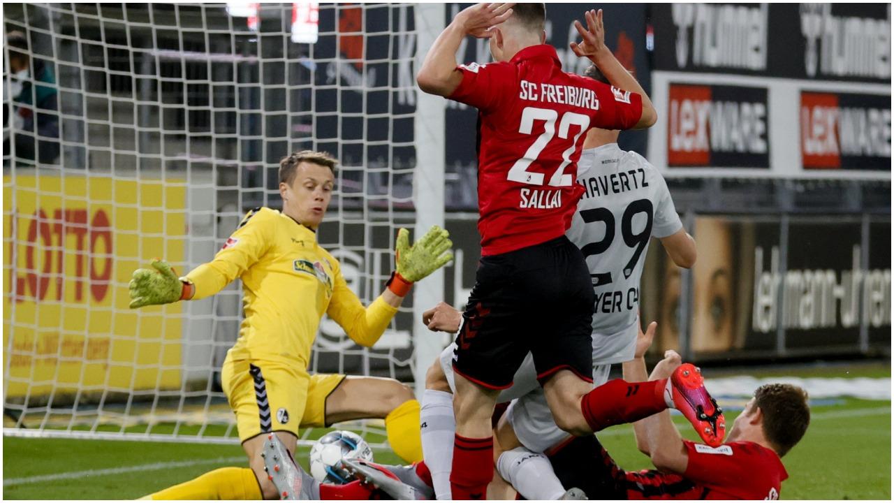 VIDEO/ Vendos goli historik i Havertz, Leverkusen rikthehet te suksesi