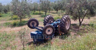 E zë traktori poshtë, humb jetën 20-vjeçari shqiptar në Greqi