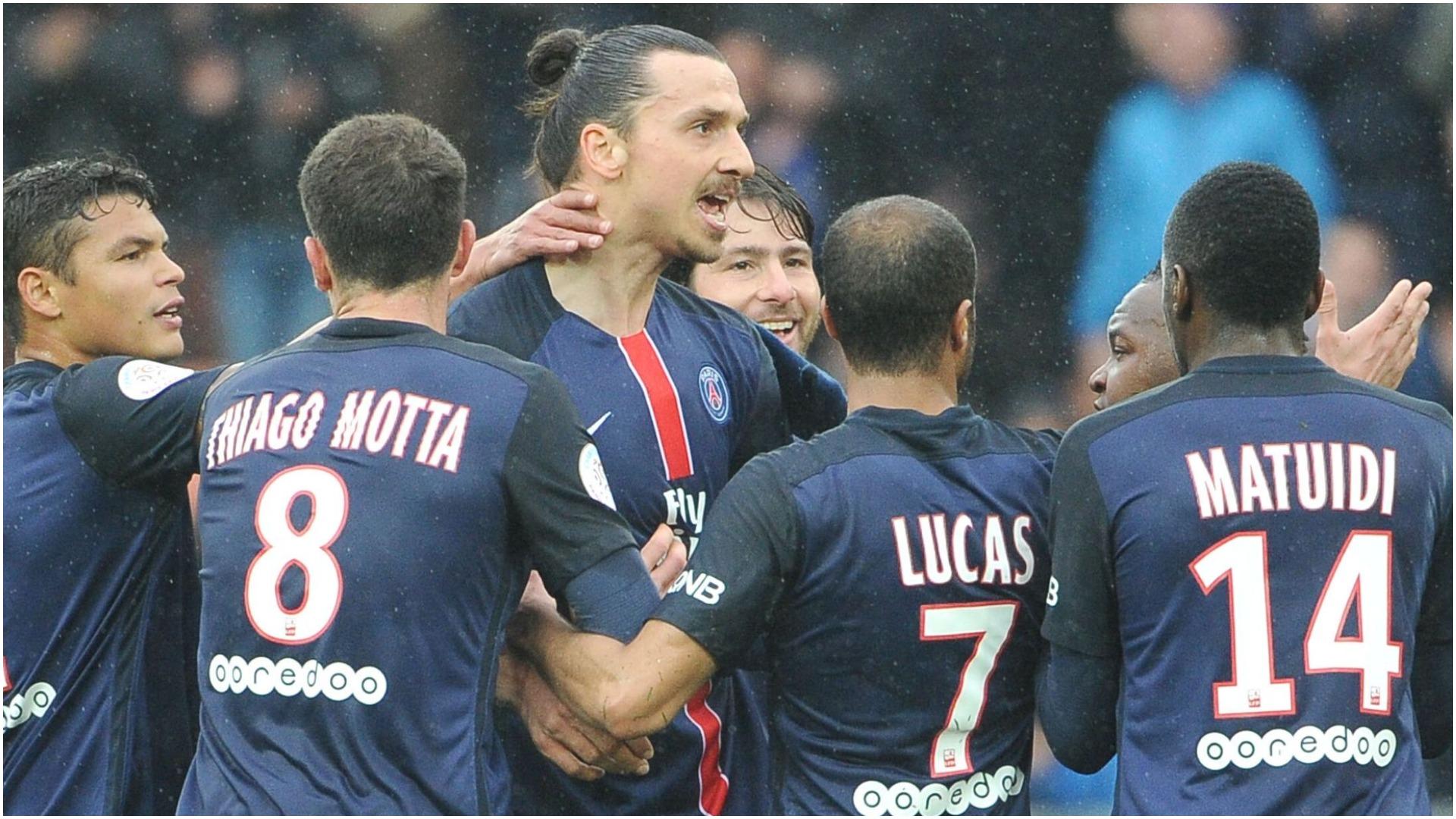 Prapaskena te PSG, Ibrahimovic e urrente rivalin e tij të sulmit
