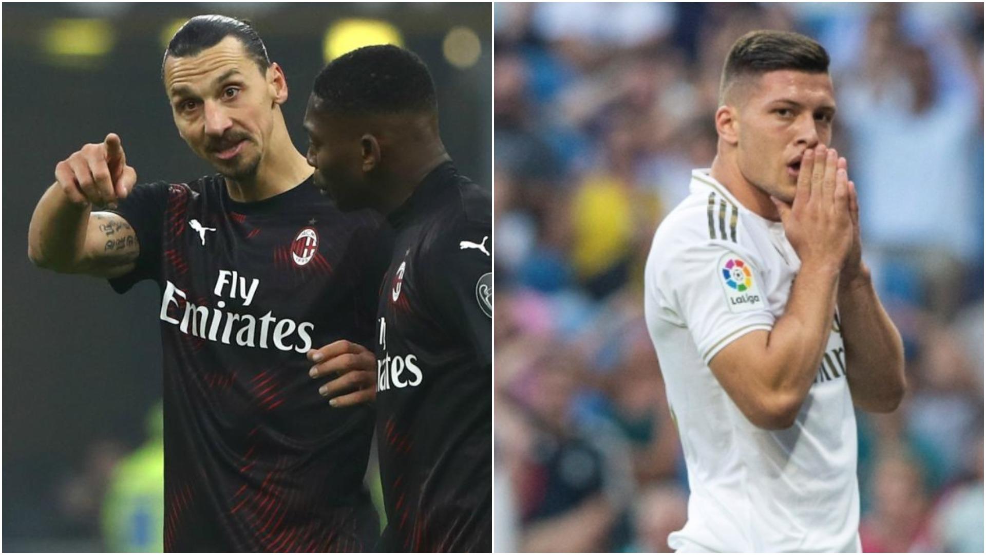 Zlatan Ibrahimovic apo Luka Jovic? Milani nuk heq dorë nga asnjëri