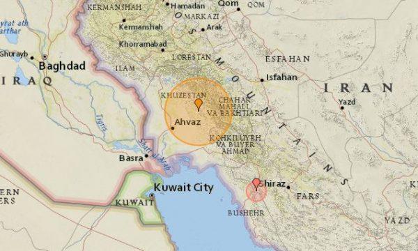 Irani goditet nga një tërmet i fuqishëm