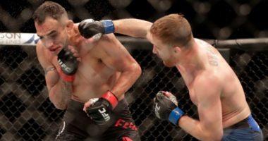 VIDEO/ UFC: Gaethjes tregon muskujt, thyen Ferguson dhe sfidon Khabib