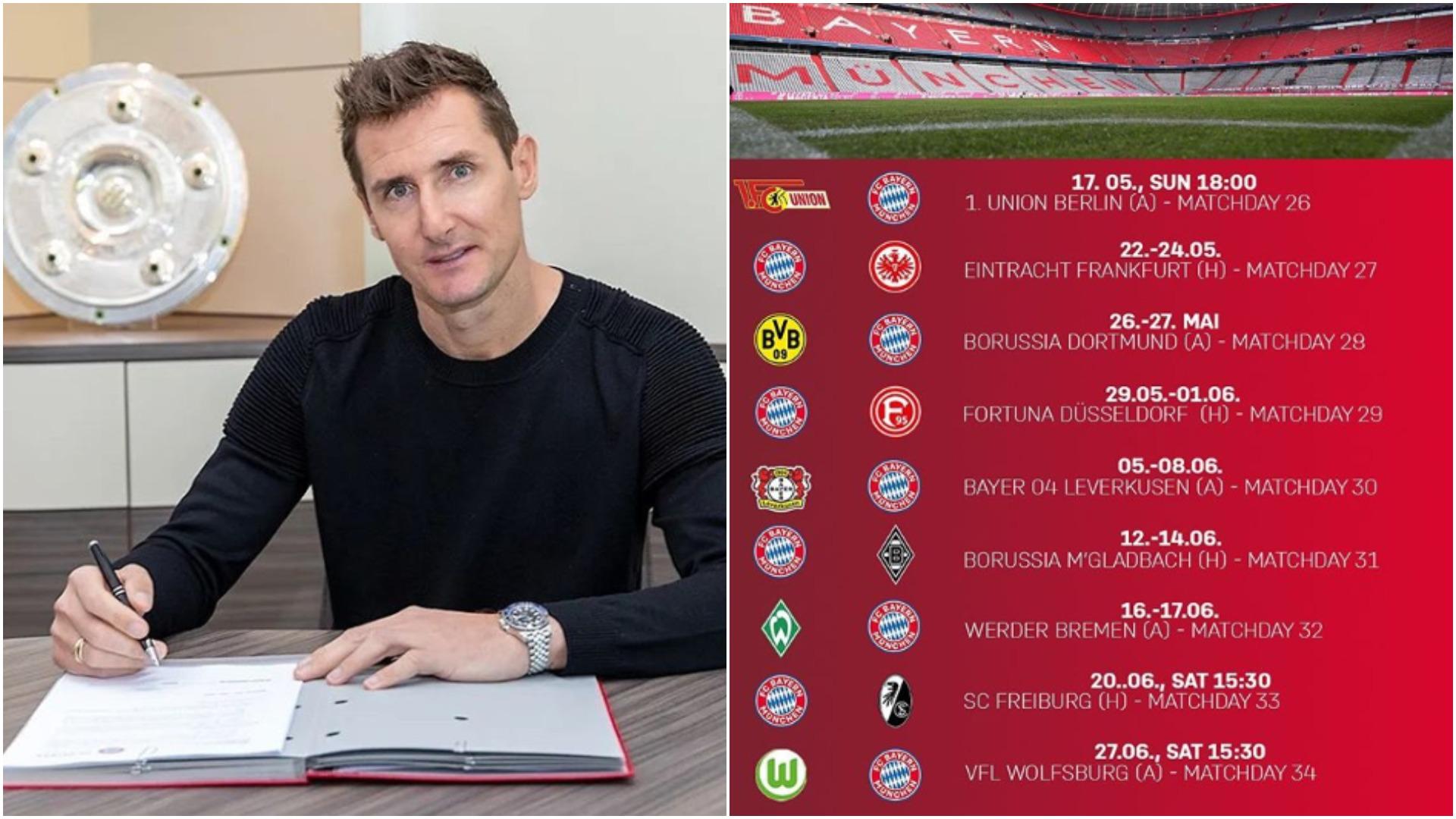 Firmë e rëndësishme dhe kalendari i ri, zhvillimet e fundit te Bayern