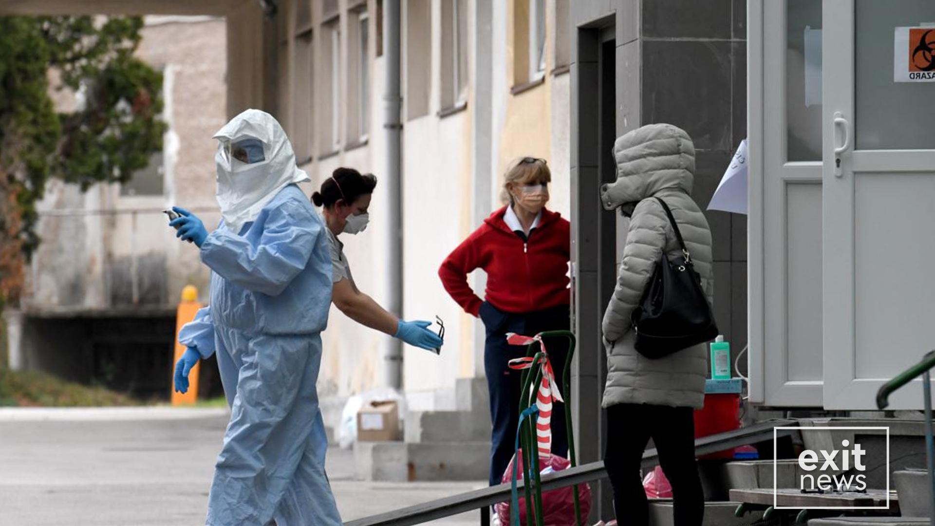 Tre viktima dhe 25 raste të reja me koronavirus në Maqedoninë e Veriut