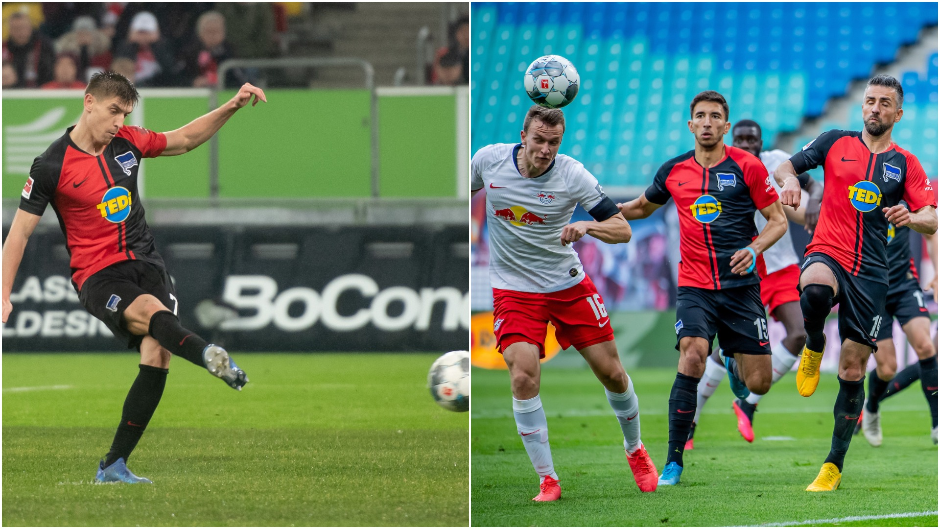 VIDEO/ Karton i kuq, gafë dhe penallti në Gjermani: Hertha frenon Leipzig