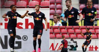 VIDEO/ 13 gola në një sezon: Leipzig poshtëron Mainz, Werner fantastik