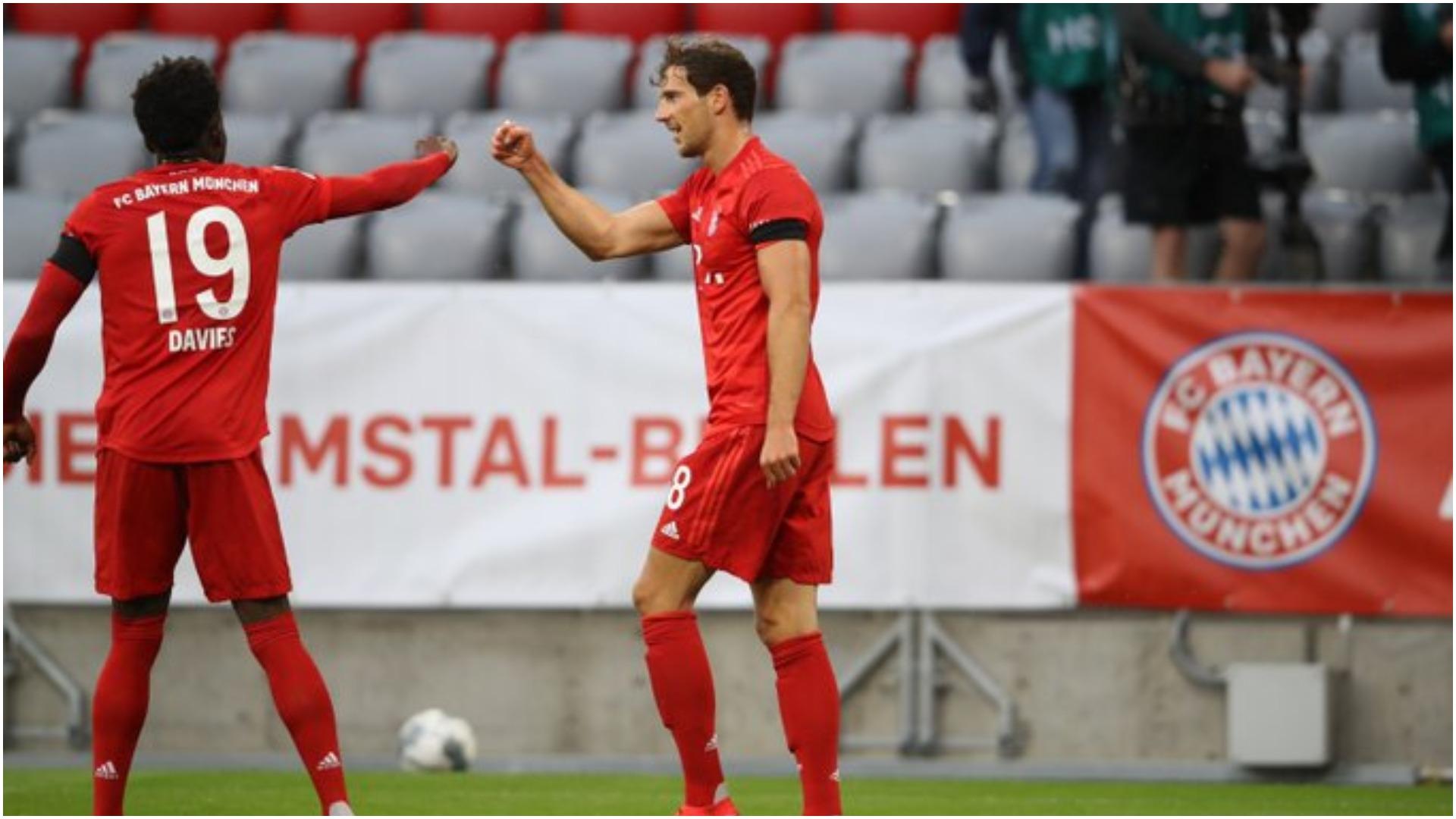 VIDEO/ Eintracht thyhet shpejt, Bayern Munchen nis festën