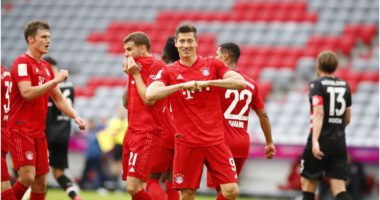 """VIDEO/ Bayern pa """"frena"""", Lewandowski&Co. dominojnë ndaj Dusseldorf"""