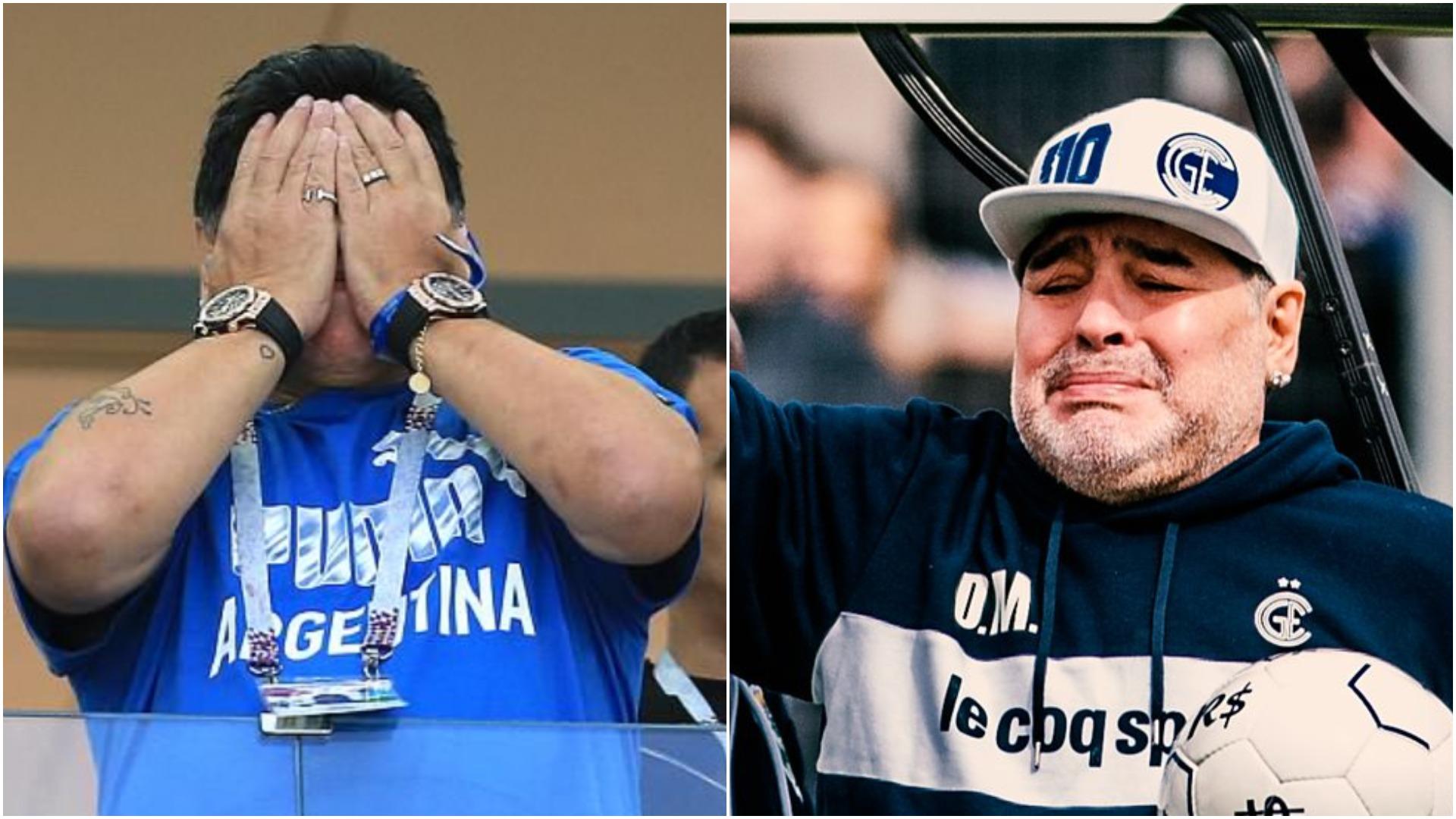 Diego Maradona përfundon në spital, zbulohet shkaku i problemeve