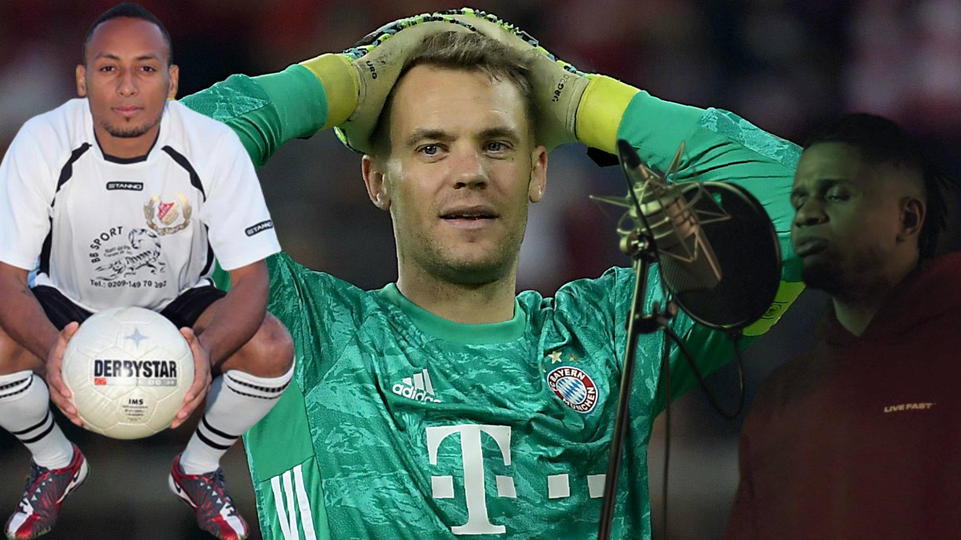 """Reperi dhe i shpalluri i vdekur, dy shokët e """"çmendur"""" të Manuel Neuer"""