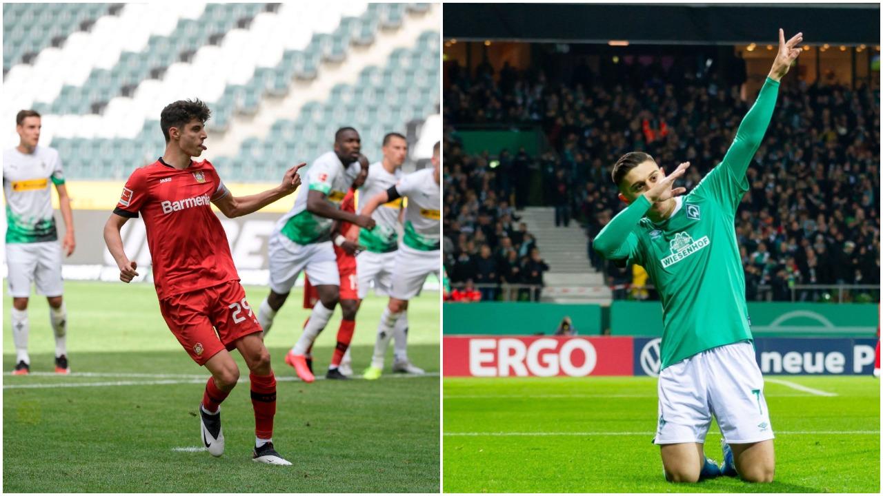 """VIDEO/ Feston Werderi i Rashicës, """"diamanti"""" Havertz nderon Leverkusen"""