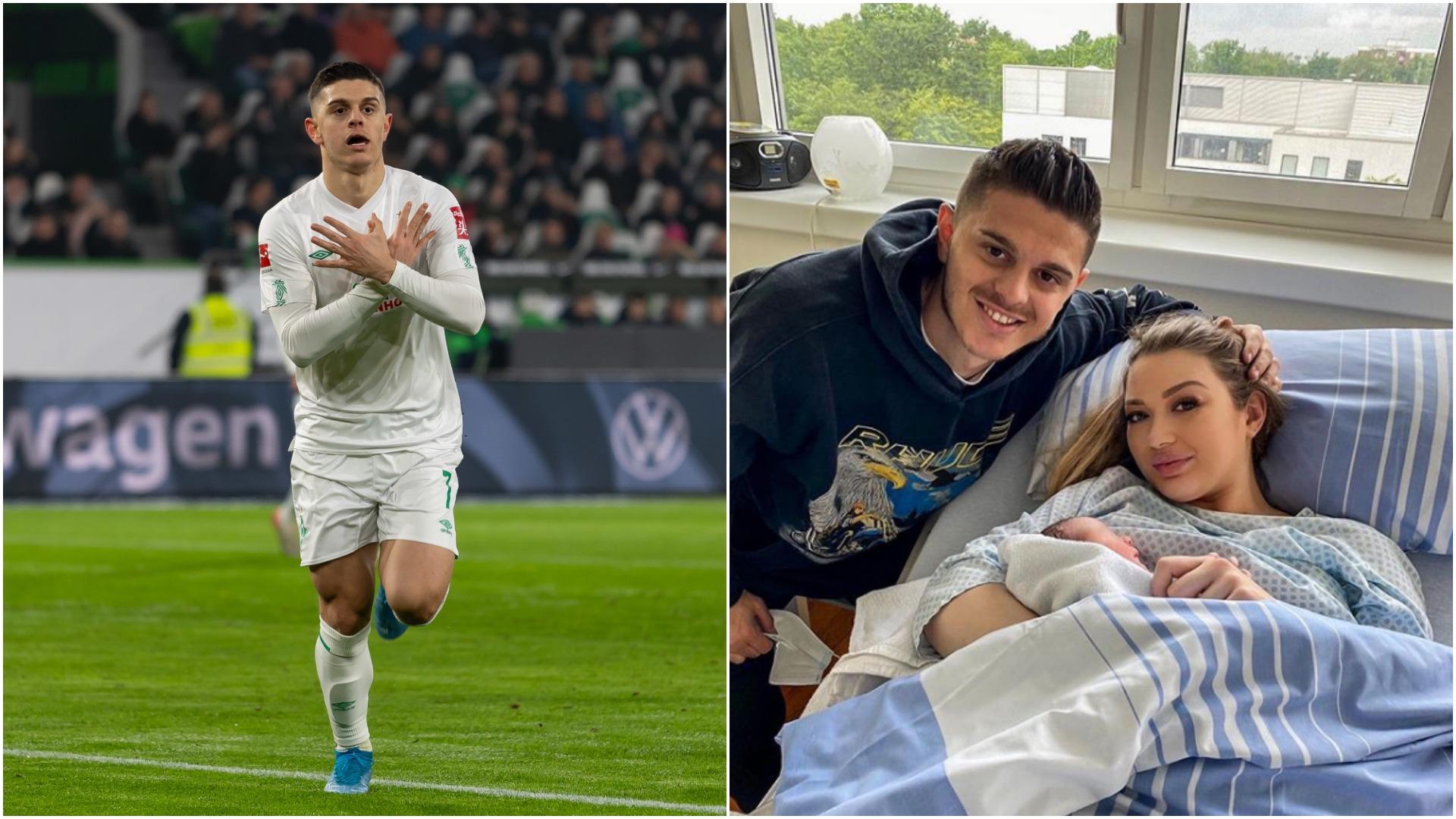 Baba për herë të parë, Milot Rashica ndan me fansat gëzimin më të madh