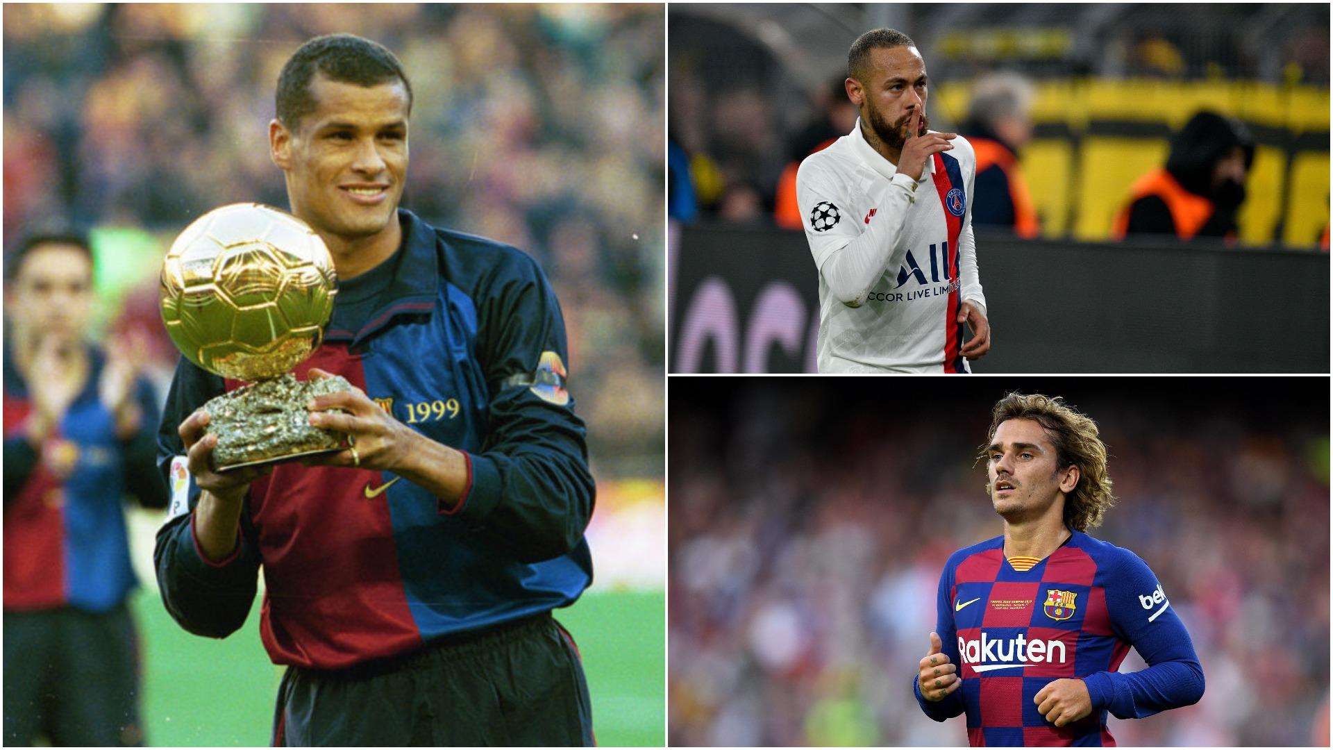 Neymar te Barcelona, flet Rivaldo: Nuk dua që Griezmann të largohet