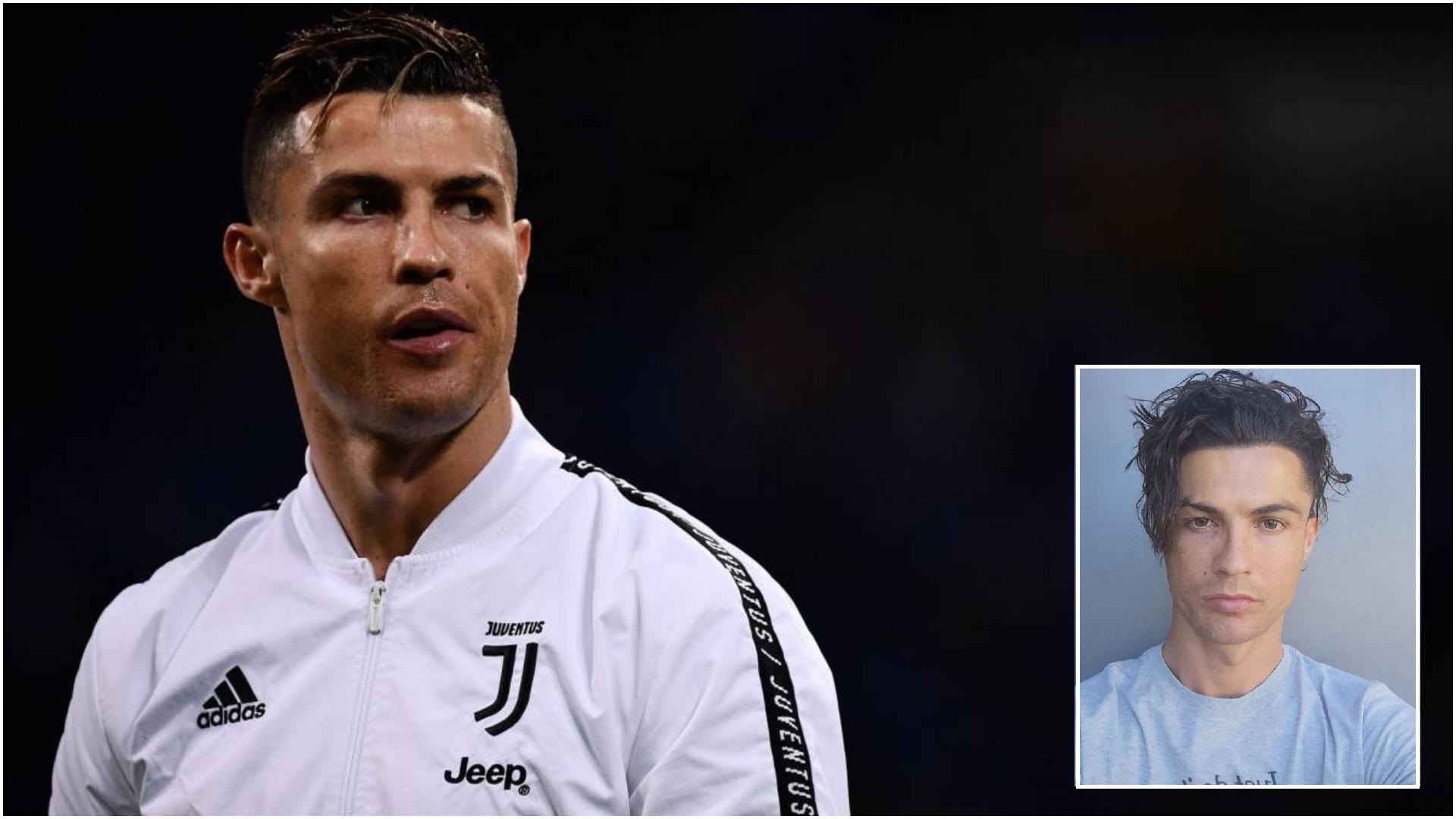 "FOTO/ Ronaldo befason me flokët e tij, ""shkrihen"" Marcelo dhe Douglas Costa"
