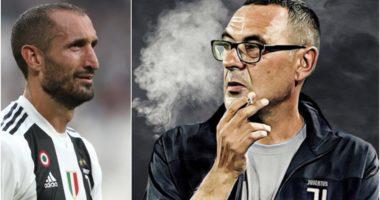 Chiellini: Sarri të mbyt me cigaren e tij, të gjithë lojtarët në dush